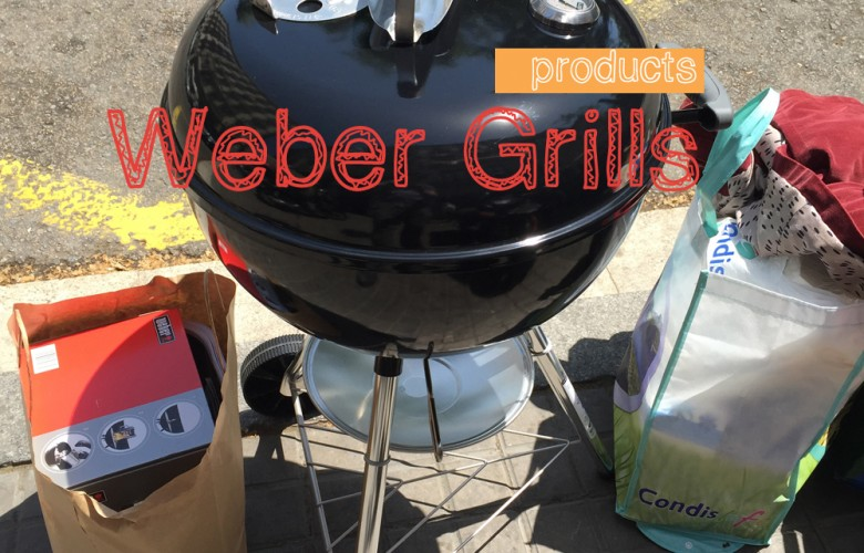 Bringing Home the Weber BBQ Grill