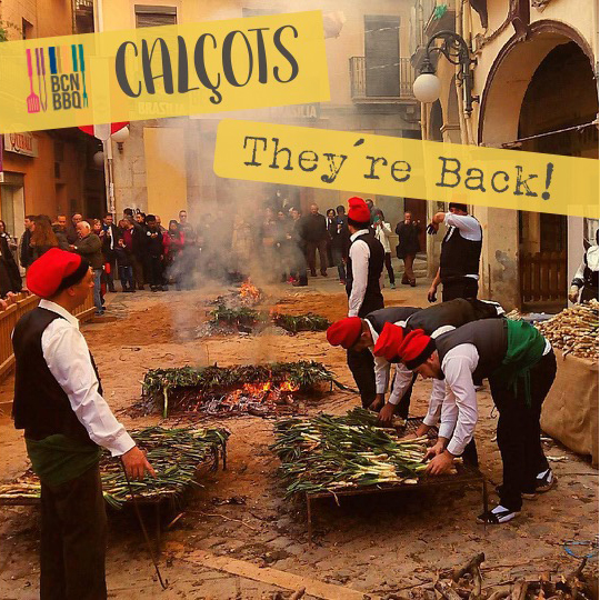 Traditional yearly calçotada festival in Valls near Tarragona Spain. Photo by @josep_batet