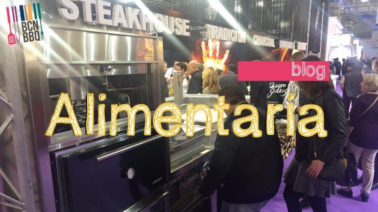 Josper Charcoal Oven Stand at Alimentaria 2016, International Food and Drink Fair