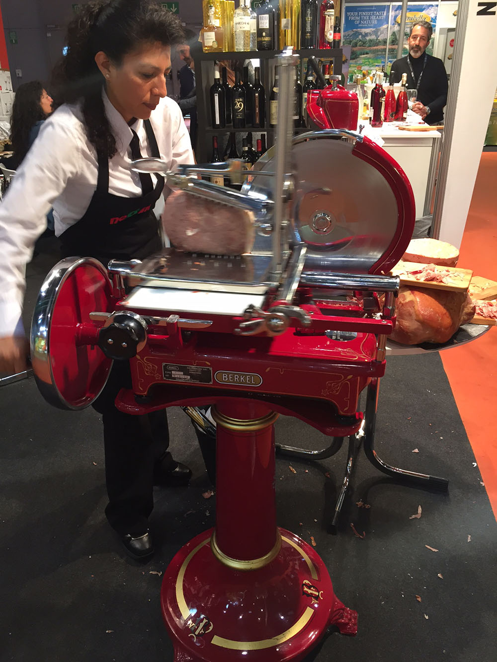 Alimentaria 2016 - Italian Meat Cutting Stand