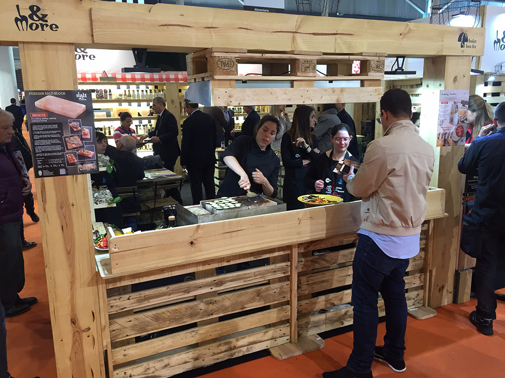 Salt & More Stand at Alimentaria 2016